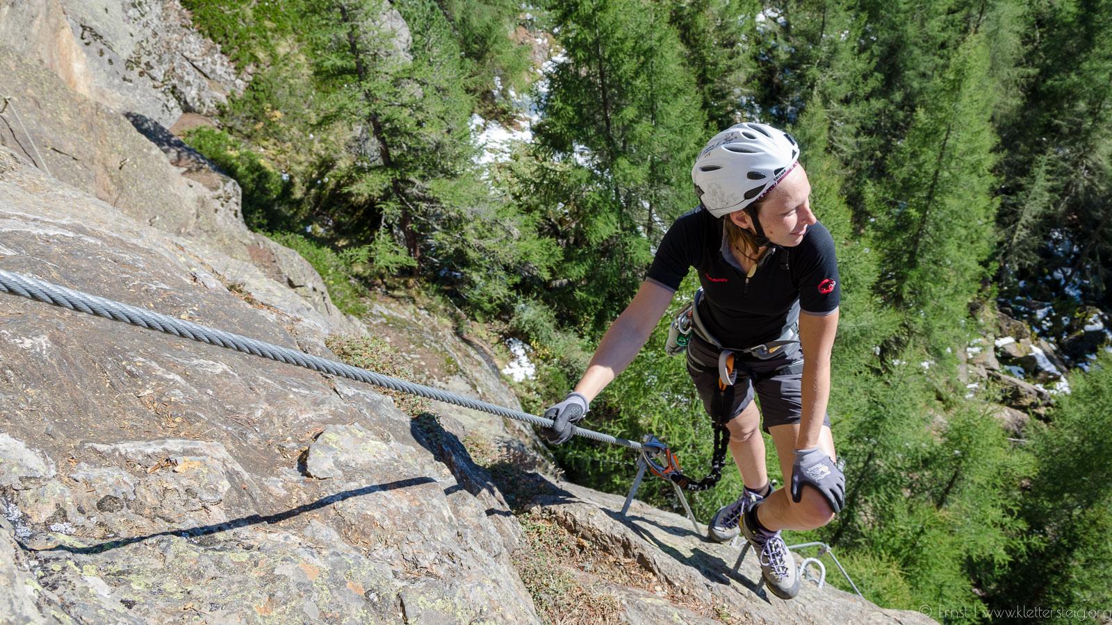 Moosalm Klettersteig Sölden
